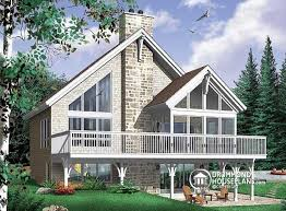 house plans with rear view house plan w3922 detail from drummondhouseplans com