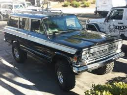 jeep grand wagoneer custom sell used 1973 jeep wagoneer custom 5 9l in for us 37 500 00