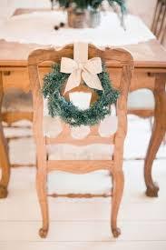 Bows For Chairs 35 Winter Wedding Wreaths That You U0027ll Love Happywedd Com