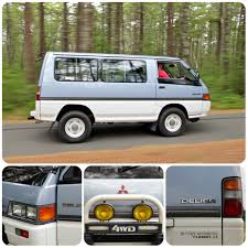 mitsubishi delica off road delica starwagon of the commonwealth clunkbucket