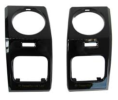 black land rover lr3 black piano dash ends for land rover discovery 3 interior upgrade