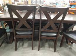 costco dining room furniture awesome dining sets costco intended for costco furniture dining set