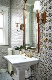 bathroom with wallpaper ideas half bath wallpaper bathroom wallpaper ideas on half bath wallpaper