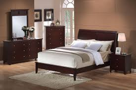 platform bedroom sets good astrid modern platform bed in walnut