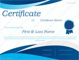 certificate of appreciation templates certificate templates