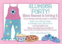 homemade slumber party invitations alesi info