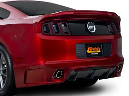2014 mustang rear cervini stalker rear valance for ford mustang 2013 2014