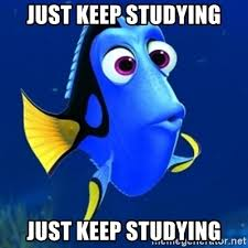 Studying Memes - just keep studying just keep studying dory meme meme generator