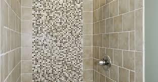 bathroom tile design app large charcoal black pebble tile border