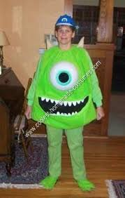 Monster Boo Halloween Costume Cute Diy Boo Monsters Costume Ellie U0027s Costume