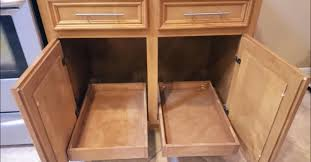 kitchen cabinet pull out storage racks how to build diy pull out cabinet shelves for 30 each