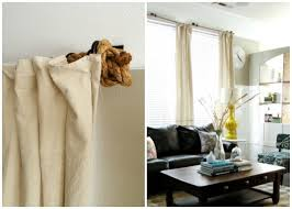 Easy Curtain Rods 10 Diy Curtain Rods And Creative Window Treatments Somewhat Simple