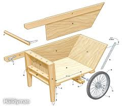 Free Woodworking Plans For Garden Furniture by Diy Garden Cart Garden Cart Plywood And Cuttings