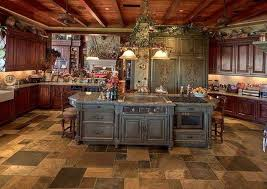 Rustic Flooring Ideas Rustic Tuscan Kitchen Flooring Ideas The Best Tuscan Kitchen