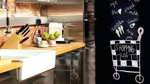 monsieur bricolage cuisine design d intérieur peinture tableau craie magnetique cuisine noir