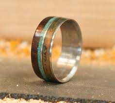 Wooden Wedding Rings by Element