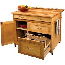mobile island for kitchen unfinished wood low height portable kitchen island with 3 drawer