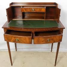 Ladies Secretary Desk Mahogany Ladies Writing Desk By Reprodux
