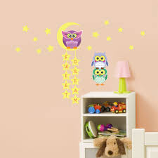sweet dream quote with owl and friends kids nursery home decor home decor wall sticker sale sweet dream quote with owl and friends kids
