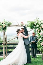 wedding arches made from trees picture of the wedding arch itself was made of tree logs to