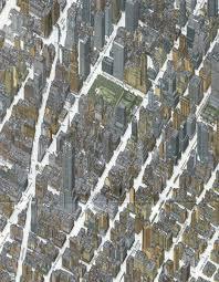 New York Manhattan Map The Streets Of New York