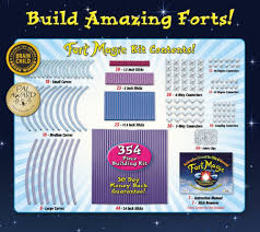 How Many Stories Is 1000 Feet by Amazon Com Fort Magic Fort Building U0026 Construction Toy Kit Toys