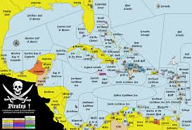 Map Caribbean Sea by Variants Vdiplomacy