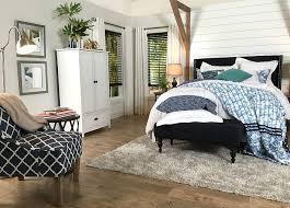 farmhouse bedroom navy white refresh restyle