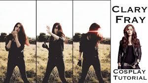 Shadowhunter Halloween Costume Clary Fray Mortal Instruments Hair