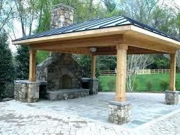 Backyard Fireplace Ideas Patio With Fireplace Ideas Outside Fireplace Designs 4 Best Ideas