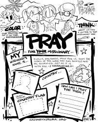 i wanted to create a coloring page to introduce kids to missions
