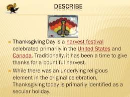 elev andrei moldovan class vi g thanksgiving day is a harvest
