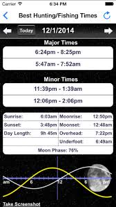 best hunting and fishing times solunar table calendar solunar best hunting fishing times feeding calendar moon phase