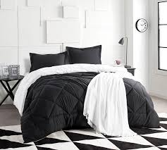 Bed Full Shop Xl King Bedding Sets Extra Long Comforter Black And White