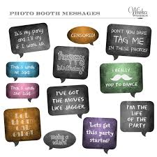 photo booth signs photo booth printables chalkboard signs birthday