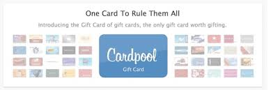 gift card companies cardpool launches one gift card to rule them all techcrunch