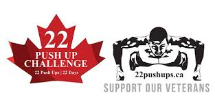 Challenge Up 22 Push Ups 22 Days Challenge Wounded Warriors Canada