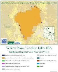 Waterfowl Migration Map Willcox Playa Cochise Lakes Iba Arizona Important Bird Areas
