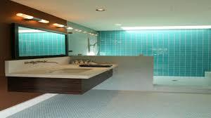 Brown Tile Backsplash by Blue Brown Bathroom Ideas Large Wooden Frame Mirror Marble Tile