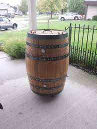 how to build a whiskey barrel bbq smoker page 1