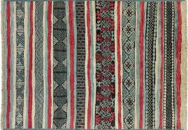 5 x 8 modern moroccan southwest design hand knotted area rug