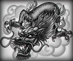 dragon tattoo head danielhuscroft com