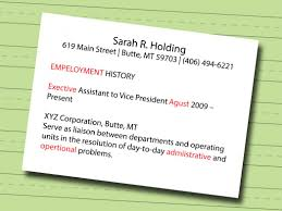Headline On A Resume Make A Resume 7 7 Ways To Make A Resume Wikihow St How To Make A