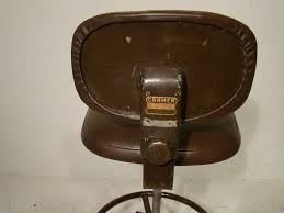 Antique Swivel Office Chair by Vintage Cramer Steel Drafting Chair Antique Swivel Chair Machine