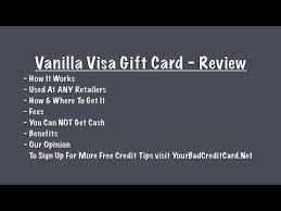 www my vanilla debit card vanilla visa gift card review