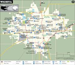 zip code map wichita ks wichita map map of wichita kansas