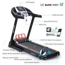 ancheer 2 25hp electric folding treadmill commercial health