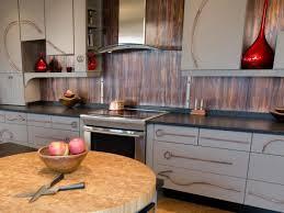backsplash ideas for kitchens inexpensive kitchen metal backsplash ideas pictures tips from hgtv for