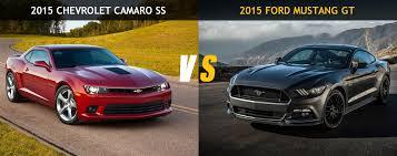 camaro vs mustang friday 2015 ford mustang gt vs 2015 chevrolet camaro ss
