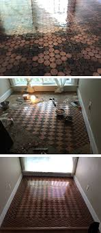 diy bathroom flooring ideas the 25 best pennies floor ideas on flooring